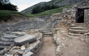 Traditional site of Paul's prison at Philippi