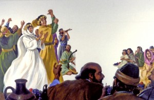 Bible-time weddings were festive occasions, sometimes lasting a week or more, with great celebration and joy.