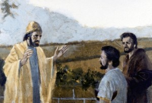 David and Jonathan were best friends, but Jonathan's crippled son Mephibosheth could have claimed his grandfather Saul's throne. Despite that, David was kind to him, and brought him into the palace to live (2 Samuel 9).