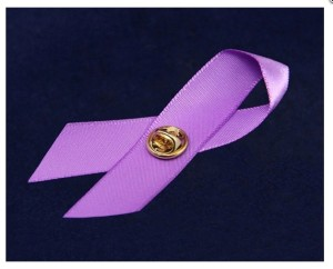 Purple ribbon $50.00 donation