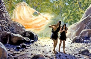 Adam and Eve expelled
