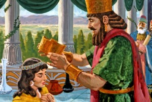 Of all the young ladies of the land, Esther pleased the king of Persia the most. She was not only beautiful, but filled with wisdom and grace. Esther, a poor Jewish orphan girl, suddenly became queen of Persia, the most powerful woman in the world (Esther 2).