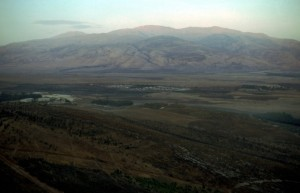 Mount Hermon is one traditional site for Jesus' transfiguration, and is near the site of mount Mizar, mentioned in Psalm 42