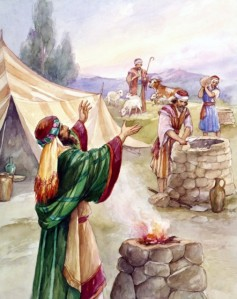 Isaac refuses to fight the Philistines for his wells -- Genesis 26:17-33