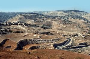 City of Jerusalem from a distance