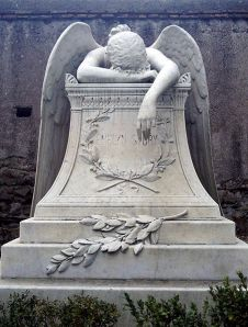 1894 sculpture by William Wetmore Story - Angel of Grief