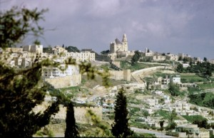 Mount Zion was the center of Christian worship from the earliest days of the Church. According to tradition, the events of Pentecost took place on this hill. Later it became the headquarters of the apostles and site of the Church of the Dormition, that dominates the hill.