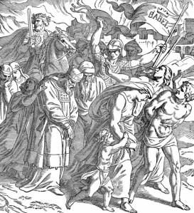 Jews Led Into Captivity