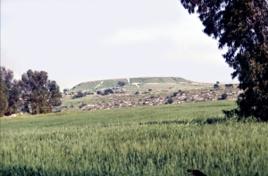 A mound, or tell, of Maresha, one suggested site of Micah's hometown Moresheth.