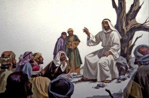 Jesus' discples were honored to listen to Him teach daily. Jesus had special teaching for The Twelve, His twelve disciples or apostles