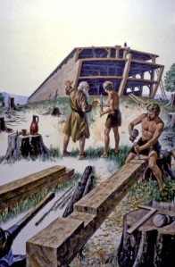 For 120 years, Noah built the great ark, as God had commanded. Noah was an example of obedience (Genesis 6:14-22).