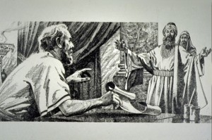 In one of Jesus' parables, an unjust steward was fired from his job. But he was shrewd, so he quickly called in his master's debtors and reduced or canceled their debts, so that he would have new friends (Luke 16:1-18).