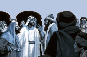 Jewish leaders of Jesus' time were mostly Pharisees, Sadducees, or Scribes. They were against Jesus, hating him so much that they wanted to kill him, for they were afraid they would lose their authority and their jobs.