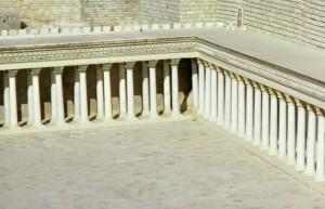 Jerusalem, model city, Herod's Temple, court of the Gentiles.